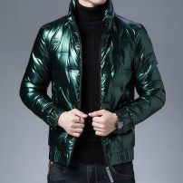 Down Jackets Black, gold, silver, green Agolsadu / yageshadu White duck down M,L,XL,2XL,3XL,4XL Youth fashion Other leisure have cash less than that is registered in the accounts thickening 90% Wear out Hood youth Youthful vigor polyester fiber More than 95%