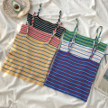Wool knitwear Summer of 2019 Average size White, green, blue, yellow, black, pink singleton  other 81% (inclusive) - 90% (inclusive) have cash less than that is registered in the accounts Thin money commute Self cultivation stripe Retro Other / other