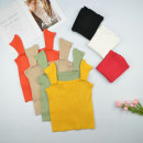 Vest sling Summer of 2019 Apricot, white, green, yellow, black, orange, jujube Average size singleton  have cash less than that is registered in the accounts Self cultivation Versatile straps Solid color 31% (inclusive) - 50% (inclusive) other straps