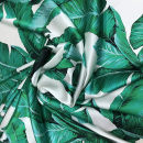 Fabric / fabric / handmade DIY fabric silk Loose shear rice Plants and flowers printing and dyeing clothing Europe and America F-19
