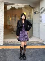 T-shirt Black suspender skirt, purple suspender skirt, black blouse L (100-115kg), XL (115-125kg), 2XL (125-150kg), 3XL (150-170kg), 4XL (170-200kg) Summer 2021 Short sleeve other Straight cylinder Medium length commute other 86% (inclusive) -95% (inclusive) Korean version originality Other