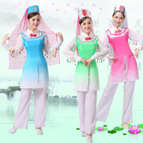 National costume / stage costume Autumn of 2019 Pink, light green, sky blue S. M, l, XL, XXL, XXL, plus XXL Other / other