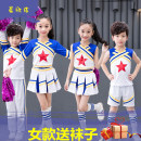 Children's performance clothes Women's short sleeves + skirts + socks, men's short sleeves + shorts + socks, women's long sleeves + skirts + socks, men's long sleeves + trousers neutral 110cm,120cm,130cm,140cm,150cm,160cm,170cm Wei Jinger Class A China classic dance Other polyester 95% 5% nylon