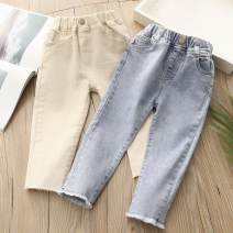 trousers Other / other female 90cm,100cm,110cm,120cm,130cm,140cm,150cm Blue, beige spring and autumn trousers No model Jeans Leather belt Other 100% kzd775 Class B Jeans 2, 3, 4, 5, 6, 7, 9, 10, 11, 12, 13, 14