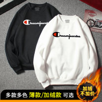 Sweater Youth fashion Champion rabbit other Socket routine Crew neck winter Slim fit daily teenagers tide routine other Cotton 100% cotton printing No iron treatment More than 95%