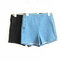 Jeans Summer of 2019 Black, denim blue, collect baby and add shopping cart priority delivery S, M Other / other