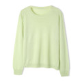 T-shirt Camellia Pollen, water mist blue, Shaxi white, light green, day and night black, milk tea apricot, modern grey, cherry purple Average size Spring 2021 Long sleeves Crew neck Straight cylinder Regular routine wool 30% and below 25-29 years old Other / other A1729