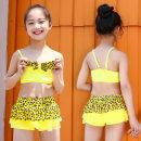 Children's swimsuit / pants Baiya Average size [36-50kg] Lake blue, yellow, rose red, pink Children's split swimsuit female polyester fiber Z-NT869225