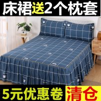 Bedspread Others 100 * 200cm bed skirt with 2 pillow cases, 120 * 200cm bed skirt with 2 pillow cases, 150 * 200cm bed skirt with 2 pillow cases, 180 * 200cm bed skirt with 2 pillow cases, 180 * 220cm bed skirt with 2 pillow cases, 200 * 220cm bed skirt with 2 pillow cases Plants and flowers A002