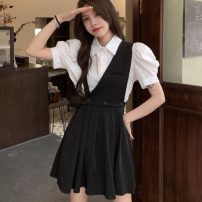 Fashion suit Summer 2021 S,M,L A set of picture colors 18-25 years old 30% and below nylon