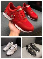 Low top shoes White, black, red 38,39,40,41,42,43,44 Cattle hide (except cattle suede) Frenulum Round head skate shoes top layer leather