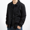 Jacket Other / other Fashion City black routine easy Other leisure autumn Long sleeves Wear out Lapel Basic public Large size routine Single breasted 2019 Cloth hem No iron treatment Closing sleeve stripe Seldingham More than two bags) Side seam pocket nylon 30% (inclusive) - 49% (inclusive)