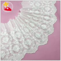 lace Off white one yard (91cm) A2502311 cotton Embroidery