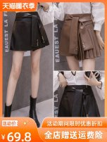skirt S,M,L,XL Black, brown Iefmg / aiyifu Meiji female Other 100% Solid color 0819-11