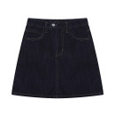 skirt Spring 2021 S,M,L,XL Black, dark blue Short skirt Sweet High waist A-line skirt Solid color Type A 18-24 years old 31% (inclusive) - 50% (inclusive) other Other / other