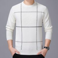 T-shirt / sweater Others Fashion City White, camel 165,170,175,180,185,190 Socket Crew neck Long sleeves winter easy 2019 Wool 100% leisure time Business Casual youth Fine wool (16 and 14 stitches) Pure wool (95% or more) Rib bottom pendulum
