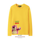 T-shirt Youth fashion White, gray, black, pink, yellow, red routine 120, 130, 140, 150, XS, s, m, l, XL, 2XL, 3XL, 4XL LVAIREN Long sleeves Crew neck standard daily autumn teenagers routine Youthful vigor Cotton wool 2019 character printing cotton Cartoon animation tto  Designer brand More than 95%