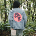 Jacket Other / other Youth fashion blue XL,L,M,XXL routine easy Other leisure Four seasons tide teenagers Denim printing