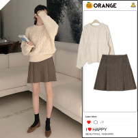 Fashion suit Winter 2020 S,M,L,XL Sweater, one size fits all, skirt 18-25 years old