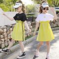Dress White, black female Other / other 110cm,120cm,130cm,140cm,150cm,160cm Other 100% summer Korean version Short sleeve Solid color other Princess Dress Dress Class B Three, four, five, six, seven, eight, nine, ten, eleven, twelve Chinese Mainland Zhejiang Province Huzhou City