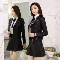 leather clothing Oana  Spring 2020 M,L,XL,2XL,3XL black other Sheepskin