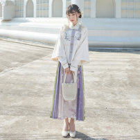 National costume / stage costume Winter 2020 Square collar patchy top, cross collar blouse, pleated skirt, square collar patchy top (Fourth Batch), cross collar blouse (Fourth Batch), pleated skirt (Fourth Batch) XS,S,M,L,XL SYS151928