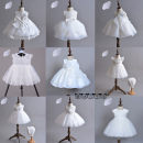 Dress female Other / other Polyester 80% cotton 20% No season Skirt / vest Solid color other Lotus leaf edge other 3 months, 12 months, 6 months, 9 months, 18 months, 2 years old