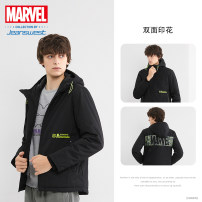 cotton-padded clothes Black 2011 JeansWest S M L XL XXS XS XXL XXXL Youth fashion routine routine standard Other leisure JE-94-122TB801 Polyester 65% cotton 35% Hood youth zipper Youthful vigor Winter of 2019 other Same model in shopping mall (sold online and offline) other winter