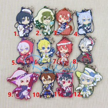 Cartoon card / Pendant / stationery Over 3 years old Keychain / Pendant idolish7 The spot size is about 5cm goods in stock Japan