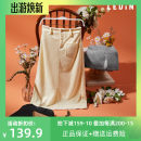 skirt Winter of 2019 L,S,M Middle-skirt Sweet High waist skirt Solid color 18-24 years old 51% (inclusive) - 70% (inclusive) Leting cotton solar system