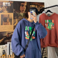 Sweater Youth fashion Jiong clothing Club Grey watermelon red dark blue M L XL 2XL Animal design Socket routine Hood autumn easy leisure time youth tide routine YY58 Fleece  Polyester 65% cotton 35% printing No iron treatment Autumn 2020 Mingji thread patch bag Pure e-commerce (online only)