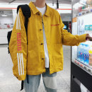 Jacket Other / other Youth fashion Black, yellow M. L, s, XL, 2XL, 3XL, 4XL, 5XL, XS plus small easy Other leisure spring Wear out square neck tide youth