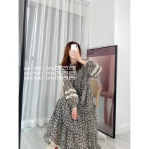 Dress Spring 2021 Picture color S,M,L singleton  Long sleeves commute Solid color routine 25-29 years old pocket 91% (inclusive) - 95% (inclusive) cotton