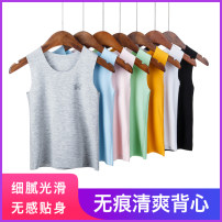 Vest sling Sleeveless 100,110,120,130,140,150,160 summer Other / other neutral No model leisure time Solid color Crew neck nothing other Cotton 46% viscose 46% polyurethane elastic 8% 1-58 Class B Chinese Mainland Zhejiang Province Wenzhou City