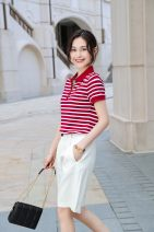 Fashion suit Summer 2021 M,L,XL,XXL,XXXL Blue, red, apricot 25-35 years old 96% and above cotton