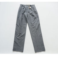 Casual pants Others other grey trousers Other leisure easy No bullet Medium high waist