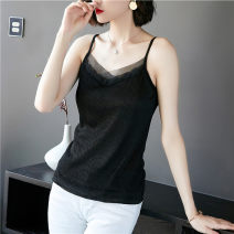 Vest sling Summer 2020 M L XL 2XL 3XL singleton  have cash less than that is registered in the accounts Self cultivation camisole Solid color 30-34 years old 96% and above polyester fiber Han daisa Polyester 100% Pure e-commerce (online only)