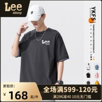 T-shirt Fashion City Gray, white, black, light blue, ginger, pink, 2381 white, 2381 black, 2381 light gray, 2381 yellow, 2381 haze blue routine M,L,XL,2XL,3XL,4XL LeedDeep Short sleeve Crew neck easy Other leisure summer WD36F25Y Cotton 100% youth Off shoulder sleeve Youthful vigor other Solid color
