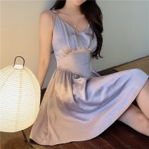 Women's large Summer 2021 lavender S M L singleton  commute Korean version Enigma 18-24 years old Other 100% Pure e-commerce (online only)