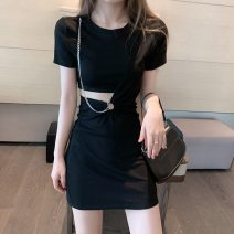 shirt black S M L Summer 2021 other 96% and above Short sleeve commute Regular Crew neck Socket other Solid color 18-24 years old Self cultivation Philenkay Korean version Q5002 Other 100% Pure e-commerce (online only)