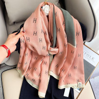 Scarf / silk scarf / Shawl other Spring and autumn, winter female Scarves / scarves multi-function Korean version rectangle Youth, youth, middle age Letters / numbers / characters printing 90cm 180cm 51% (inclusive) - 70% (inclusive)