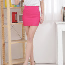 skirt Summer of 2018 Average size Short skirt Versatile A-line skirt Solid color 18-24 years old 91% (inclusive) - 95% (inclusive) knitting polyester fiber 161g / m ^ 2 (including) - 180g / m ^ 2 (including)
