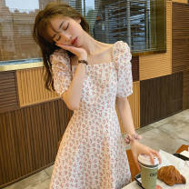 Dress Summer 2021 White, white T-shirt S,M,L,XL,2XL 25-29 years old Other / other