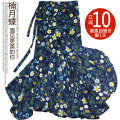 skirt Summer 2021 longuette High waist A-line skirt Versatile Bows, ties, bandages, prints More than 95% polyester fiber Broken flower 18-24 years old Type A Other / other Chiffon One size fits all (recommended for 80-130 kg)