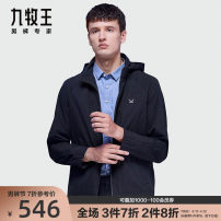 Jacket Joeone / nine shepherds Business gentleman Hk1010717 + Black + slim jk1012117 + gray + new design on slim 165/88A 170/92A 175/96A 180/100A 185/104A 160/84A 185/108B routine Self cultivation Other leisure spring sjRqMTJ 100.00% polyester Long sleeves Wear out Hood Business Casual youth routine