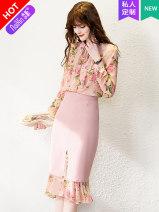 Fashion suit Spring 2021 145 / 72 / XXS [Naixin customization] 150 / 76 / XS [Naixin customization] 155 / 80 / s [Naixin customization] 160 / 84 / M [Naixin customization] 165 / 88 / L [Naixin customization] 170 / 92 / XL [Naixin customization] 25-35 years old Naixin NXK-T2001Q-11299 96% and above