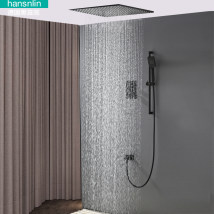 Shower faucet (suit) Rotatable belt lifting black forest Double shower faucet copper Wall entry type (including shower screen) Constant temperature control Intra city logistics delivery twenty million one hundred and sixty-three thousand two hundred and one square
