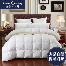Down / duvet Down quilt 50% (including) - 55% (excluding) White Velvet Qualified products Pierre Cardin / Pierre Cardin polyester winter White pink 2017.10.3002