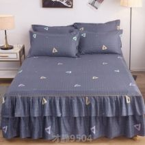 Bed skirt One pair of 120x200cm, one pair of 150x200cm, one pair of 180x200cm, one pair of 180x220cm and one pair of 200x220cm cotton Sulena Plants and flowers First Grade