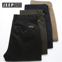 Jeans Business gentleman Jeep / Jeep 28,29,30,31,32,33,34,35,36,38,40 Jp9001 thin - dark blue, jp9001 thin - Beige, jp9002 thin - khaki, jp9002 thin - black, jp9003 thin - army green, jp9003 thin - grey, jp9002 thin - dark blue, jp9001 thin - Black Thin money Micro bomb trousers go to work summer
